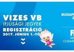 Regisztrálj ingyen ifjúsági jegyekért a FINA Vizes Világbajnokságra!