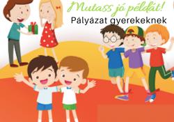Építsünk egy boldogabb világot! pályázat gyerekeknek