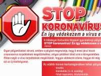 STOP koronavírus! Én így védekezem a vírus ellen…